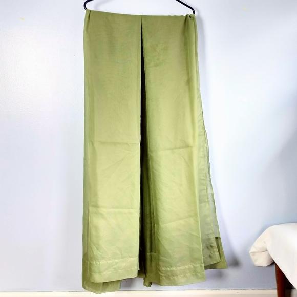 5/$30 Sage Green Sheer Pair of Curtains